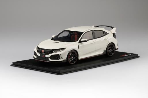 1:18 Top Speed Honda Civic Type R  (RHD) - Championship White