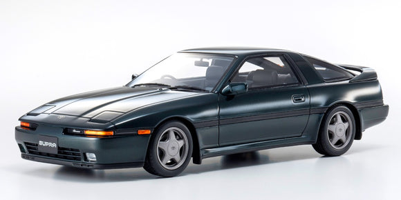 1:18 Otto Mobile Toyota Supra A70 Dark Green