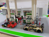1:64 Diorama Gas Station