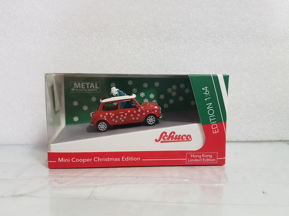 1:64 Schuco Mini Cooper Christmas