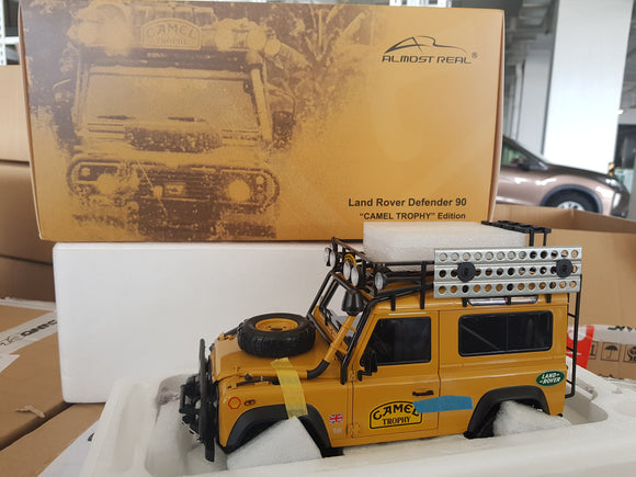 1:18 Almost Real Land Rover Defender 90 (Camel Trophy Edition)