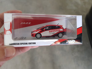 "1:64 inno64 Honda Jazz GK5 #1 ""Team Honda Racing Indonesia"" ISSOM 2015"