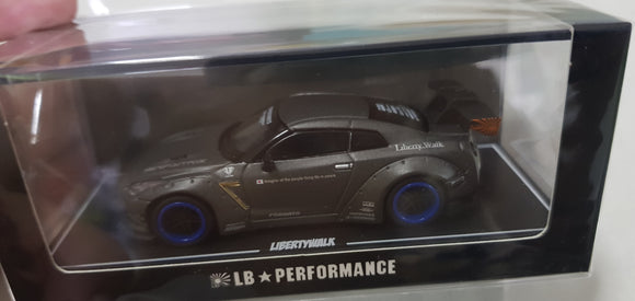 1:64 OEM Liberty Walk Nissan GTR R35 LB Matt Grey