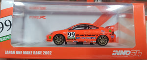 1:64 Inno64 Honda Integra DC5 #99 Japan One Make Race 2002