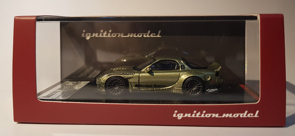 1:64 Ignition Model Rocket Bunny RX7 FD3S - Green Metallic - Jap Exclusive