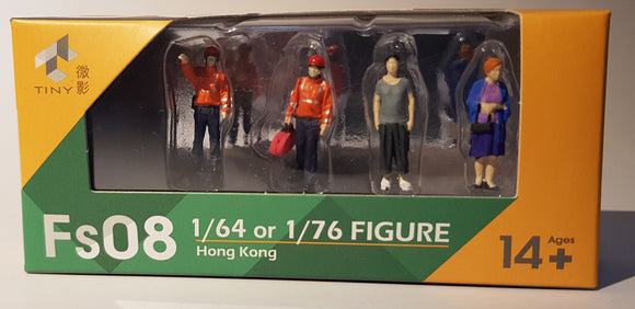 1:64 Tiny Figurines Set - Fs08