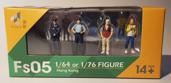 1:64 Tiny Figurines Set - Fs05