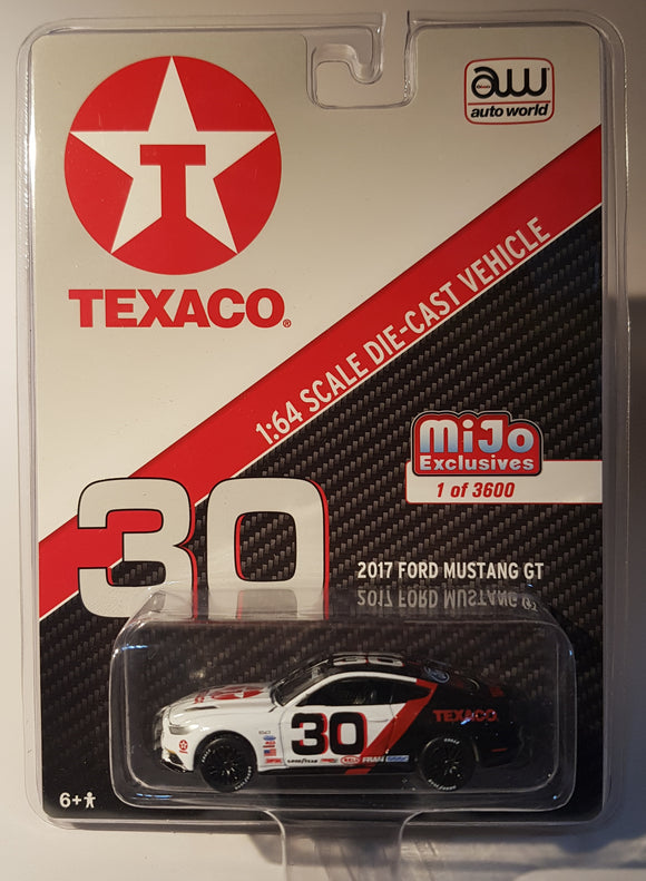 1:64 AutoWorld Ford Mustang GT #30 Texaco - Mijo Exclusive