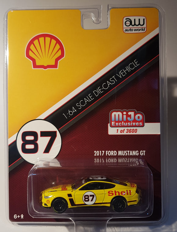 1:64 AutoWorld Ford Mustang GT #87 Shell - Mijo Exclusive