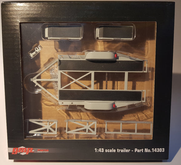 1:43 GMP Trailer Set - Grey