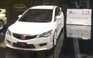 1:18 Otto Mobile Honda Civic Type R FD2 (New Facelift) - White