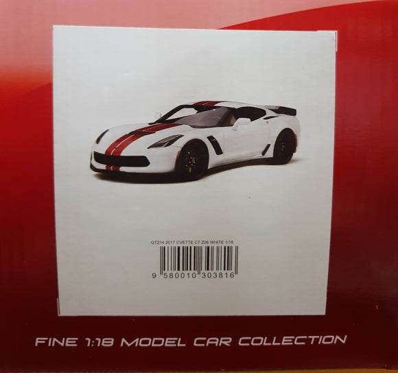 1:18 GT Spirit Chevrolet Corvette C7 Z06 - White