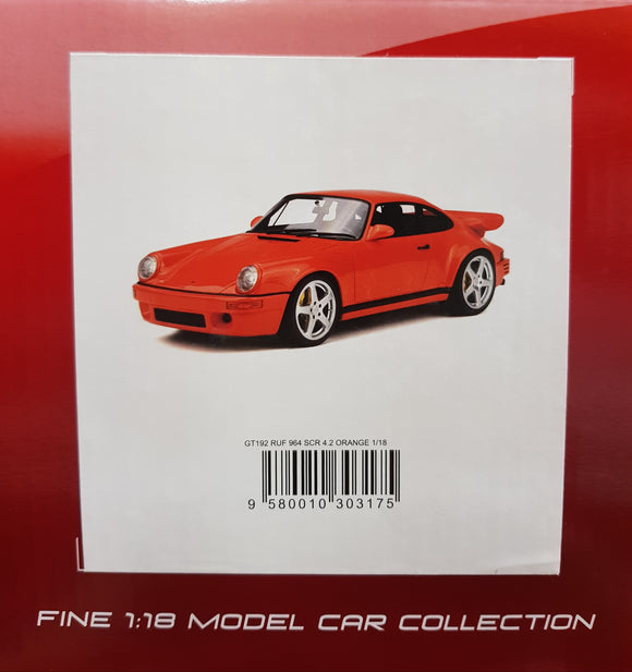 1:18 GT Spirit Porsche 911 964 RUF SCR 4.2 - Orange