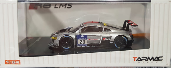1:64 Tarmac Works Audi R8 LMS #28 2015 Nurburgring 24hr Winner