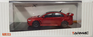 1:64 Tarmac Works Mitsubishi Lancer Evo X Final Edition - Rally Red