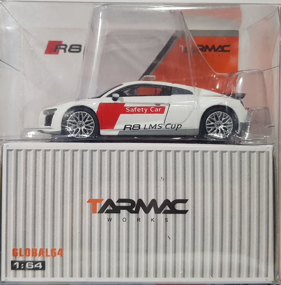 1:64 Tarmac Works Audi R8 V10 Plus - Audi R8 LMS Cup Safety Car