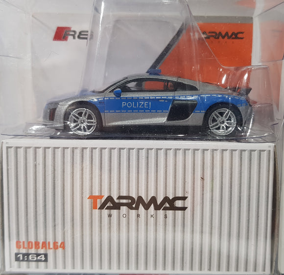 1:64 Tarmac Works Audi R8 V10 Plus - German Police