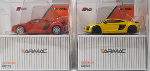 1:64 Tarmac Works Audi R8 V10 Plus - 2 x Plain Color SET