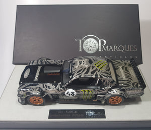 1:18 Top Marques Ford Mustang #43 Hoonigan 1965
