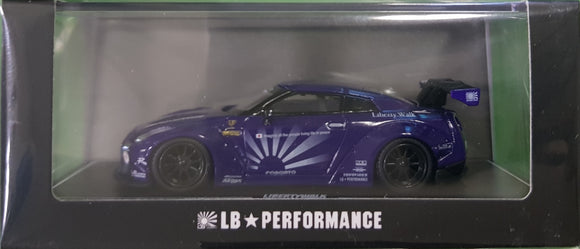 1:64 OEM Liberty Walk Nissan GTR R35 - Purple