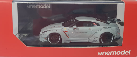 1:43 OneModel LB Nissan GTR R35 GT Wing - AirForce Grey