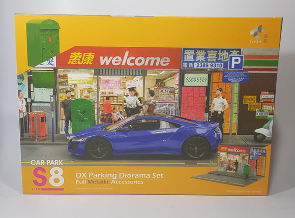 1:18 Tiny DX Parking Diorama Set