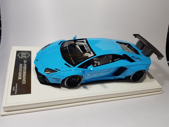 1:18 JUC LB Performance Aventador - Baby Blue