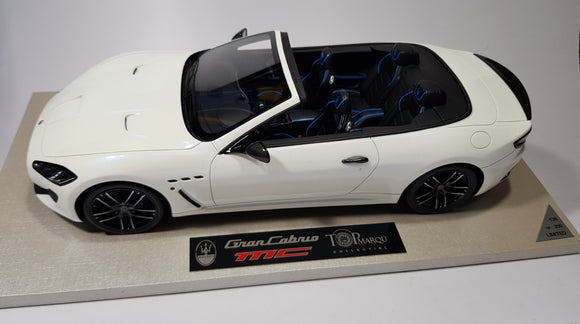 1:18 Top Marques Maserati MC Grancabrio Bianco Birdcage