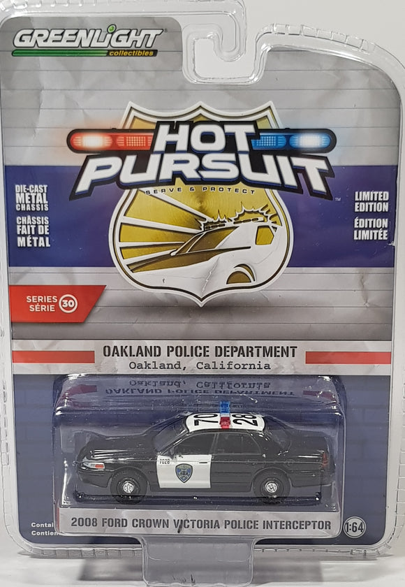 1:64 Greenlight Ford Crown Victoria Police Interceptor