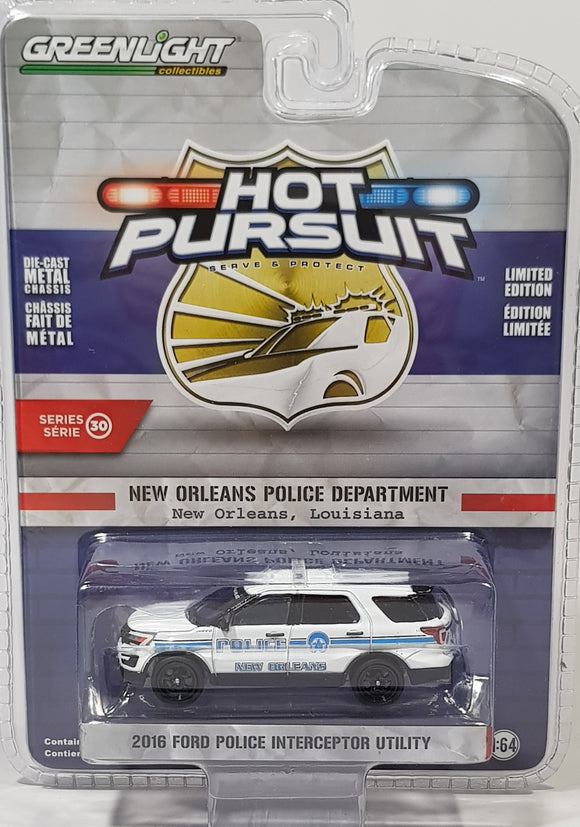 1:64 Greenlight Ford Police Interceptor Utility