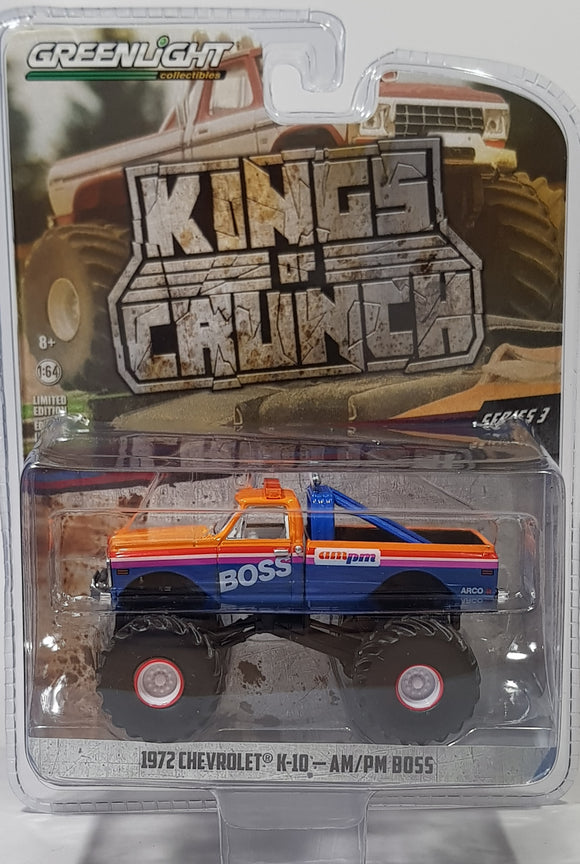 1:64 Greenlight Chevrolet  K10 1972 - AM/ PM BOSS