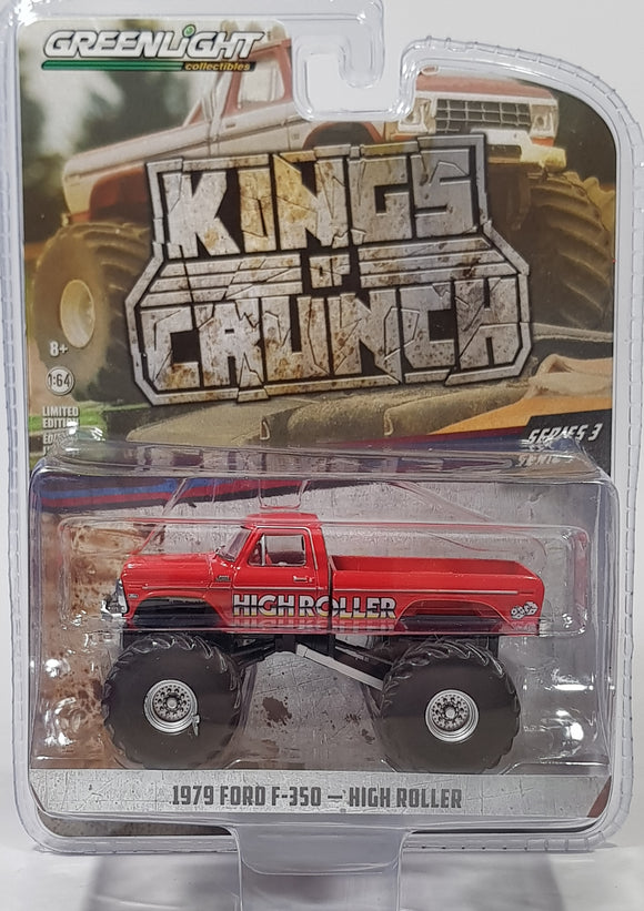 1:64 Greenlight Ford F-350 1979 High Roller