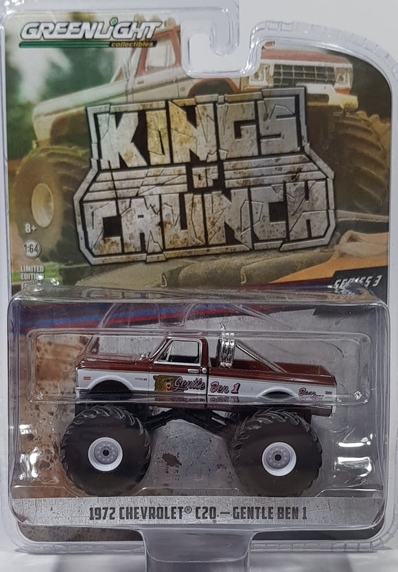 1:64 Greenlight Chevrolet C20 1972 Gentle Ben 1
