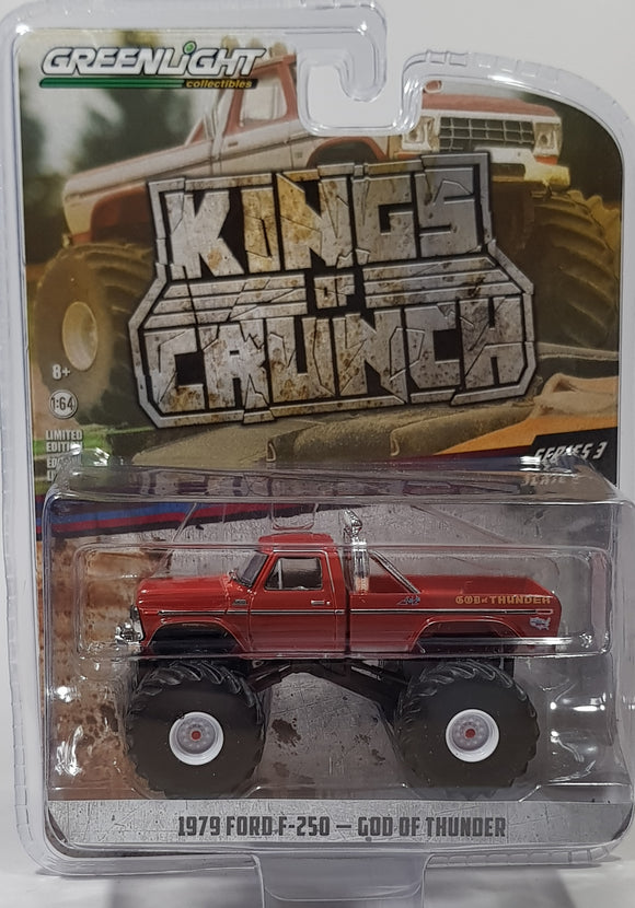 1:64 Greenlight Ford F-250 1979 God of Thunder