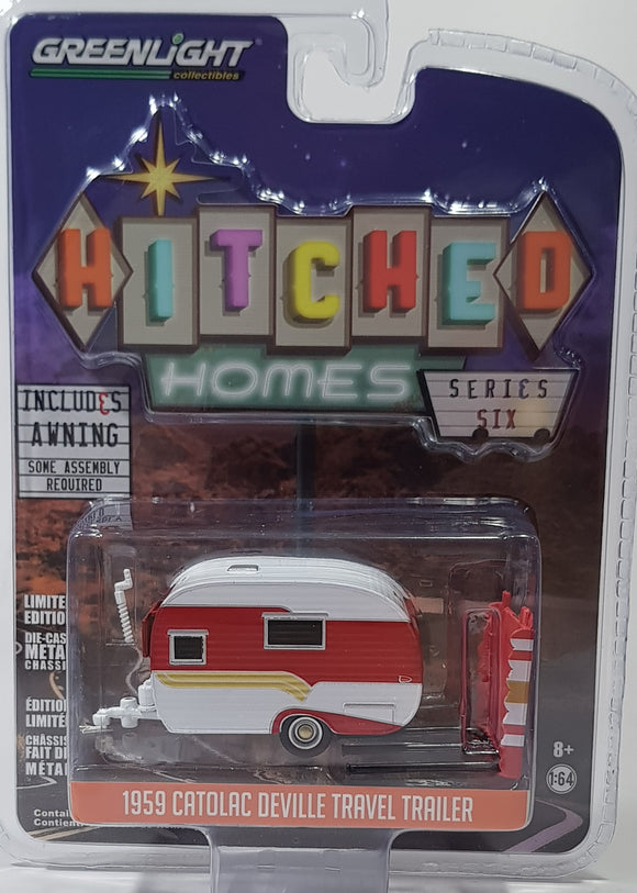 1:64 Greenlight Catolac Deville Travel Trailer