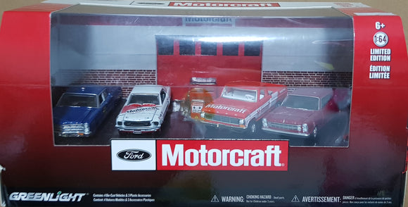 1:64 Greenlight Ford Motorcraft Set
