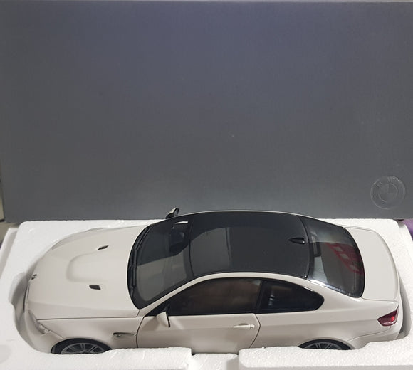 1:18 Dealer Edition Kyosho BMW M3 Coupe - White