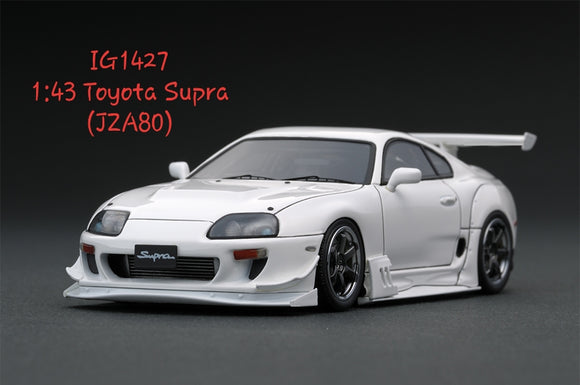 1:43 Ignition Model Toyota Supra (JZA80) - RA Wheel - RZ White