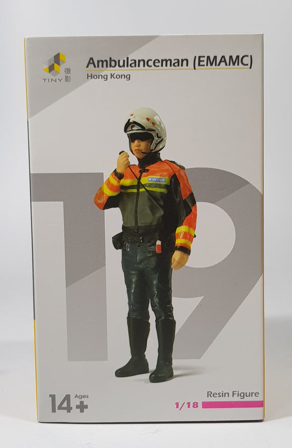 1:18 Tiny Hong Kong Ambulanceman (EMAMC) Figurine - #19