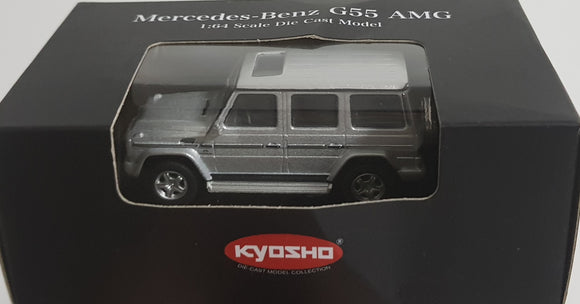 1:64 Kyosho Mercedes Benz G55 AMG - Silver