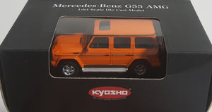 1:64 Kyosho Mercedes Benz G55 AMG - Orange