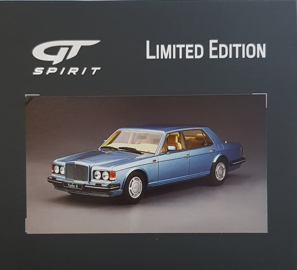 1:18 GT Spirit Bentley Turbo R LWB - Blue