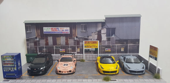 1:64 Model DX Diorama (Taiwan Scene) - w casing