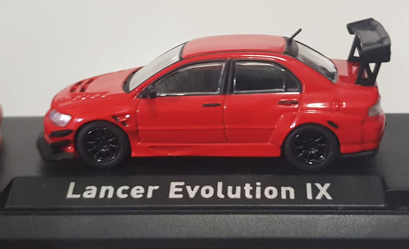 1:64 CM Model Mitsubishi Lancer Evolution IX - Red