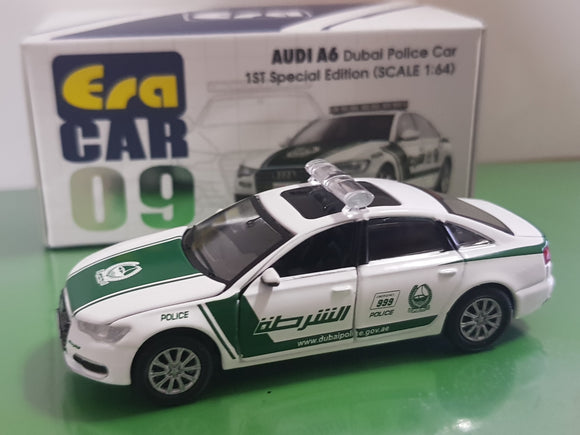 1:64 Era Car Audi A6 - Dubai Police Car