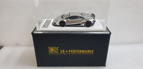 1:64 LB Works Lamborghini Huracan - Chrome (Japan Exclusive)