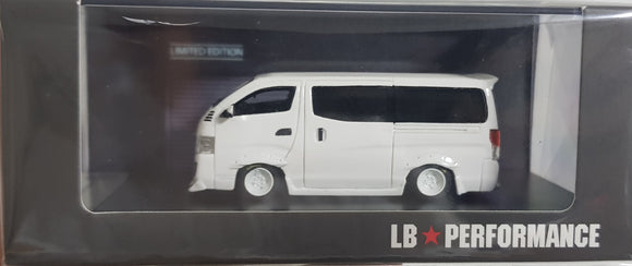 1:64 LB Works Nissan NV350 - White