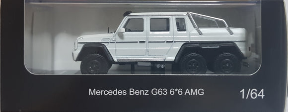 1:64 OEM Mercedes Benz G63 6x6 - White