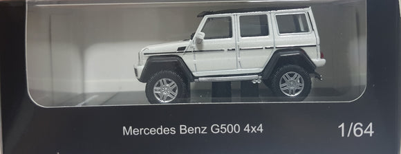 1:64 OEM Mercedes Benz G500 4x4 - White