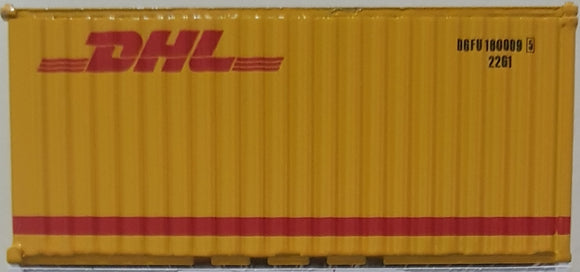 1:64 Diorama Container Yellow DHL